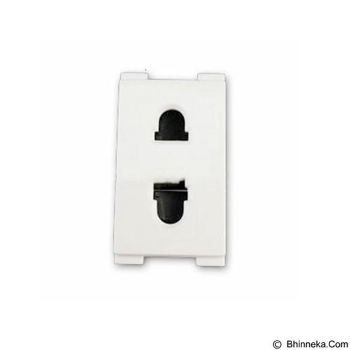 SCHNEIDER Universal Socket 2 Pin Size M (Merchant) - Stop Kontak in Bow