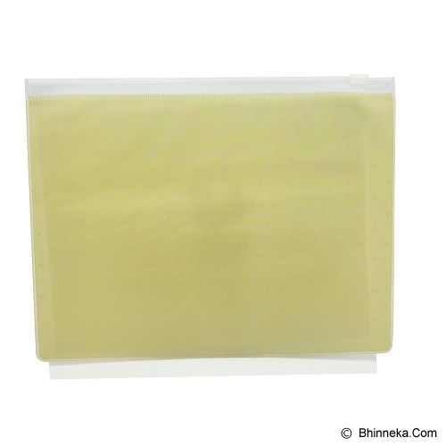 SCOOP PRODUCTS Zipper Pocket - Yellow (V) - Zipper Pocket