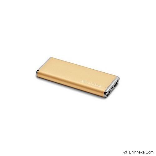 SCUD Powerbank 10000mAh [M100] - Gold - Portable Charger / Power Bank