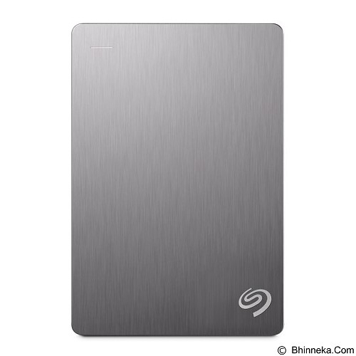 SEAGATE Backup Plus Portable USB 3.0 4TB [STDR4000301] - Silver - Hard Disk External 2.5 inch