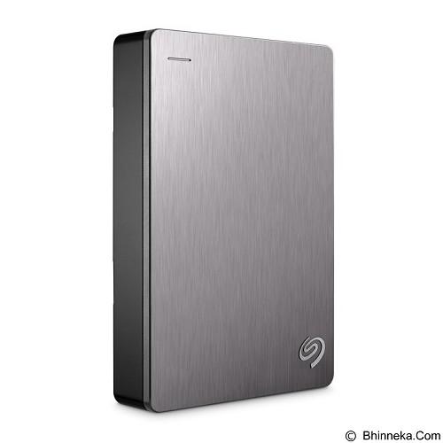 SEAGATE Backup Plus Portable USB 3.0 4TB [STDR4000301] - Silver - Hard Disk External 2.5 Inch