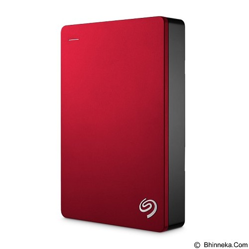 SEAGATE Backup Plus Portable USB 3.0 4TB [STDR4000303] - Red - Hard Disk External 2.5 Inch