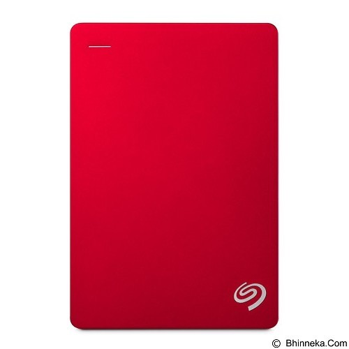 SEAGATE Backup Plus Portable USB 3.0 5TB [STDR5000303] - Red - Hard Disk External 2.5 Inch