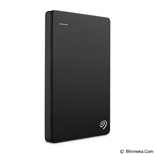 SEAGATE Backup Plus SLIM USB 3.0 1TB [STDR1000300] - Black - Hard Disk External 2.5 Inch