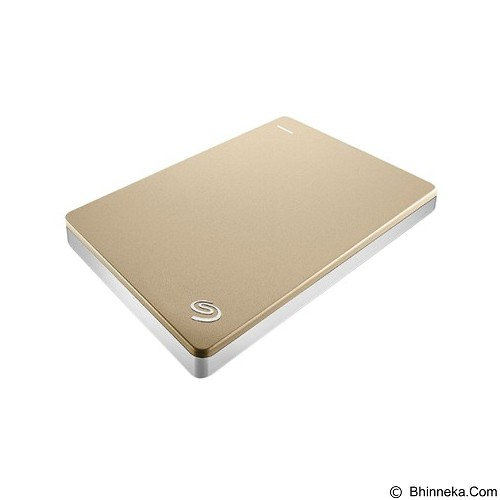 SEAGATE Backup Plus SLIM USB 3.0 1TB [STDR1000301] - Gold (Merchant) - Hard Disk External 2.5 Inch