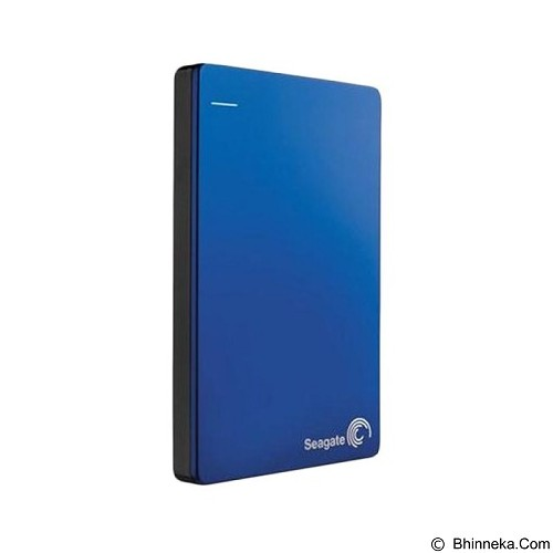 SEAGATE Backup Plus SLIM USB 3.0 1TB [STDR1000302] - Blue (Merchant) - Hard Disk External 2.5 Inch