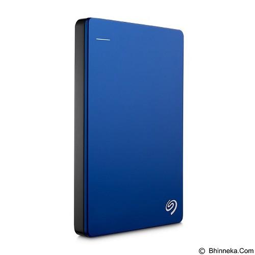 SEAGATE Backup Plus SLIM USB 3.0 1TB [STDR1000302] - Blue - Hard Disk External 2.5 Inch
