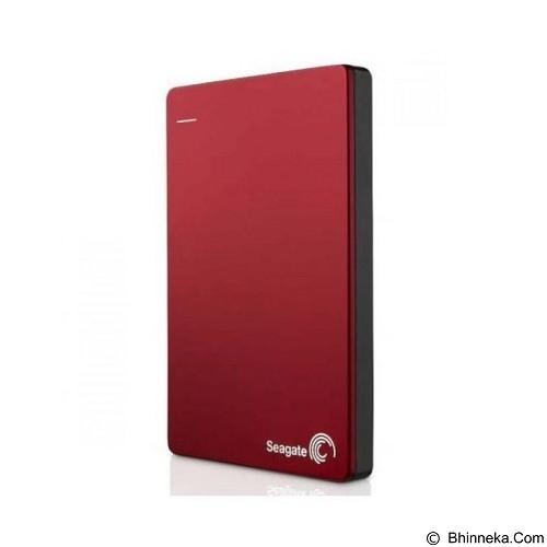 SEAGATE Backup Plus SLIM USB 3.0 1TB [STDR1000303] - Red (Merchant) - Hard Disk External 2.5 Inch