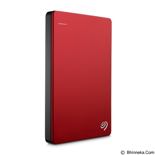 SEAGATE Backup Plus SLIM USB 3.0 1TB [STDR1000303] - Red - Hard Disk External 2.5 inch
