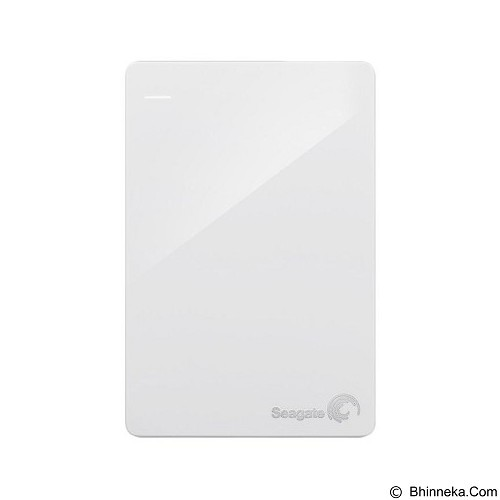 SEAGATE Backup Plus SLIM USB 3.0 1TB [STDR1000307] - White (Merchant) - Hard Disk External 2.5 Inch