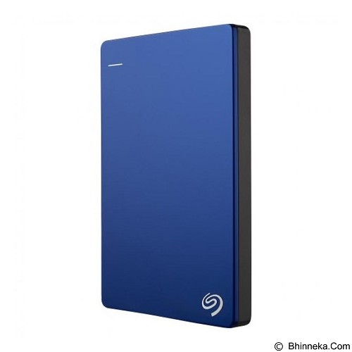 SEAGATE Backup Plus SLIM USB 3.0 2TB - Blue (Merchant) - Hard Disk External 2.5 Inch