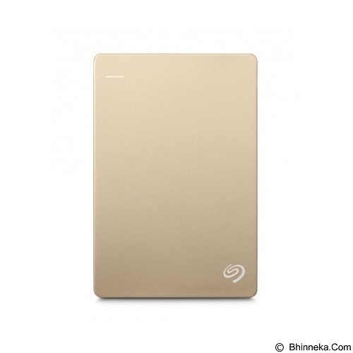 SEAGATE Backup Plus SLIM USB 3.0 2TB - Gold - Hard Disk External 2.5 Inch