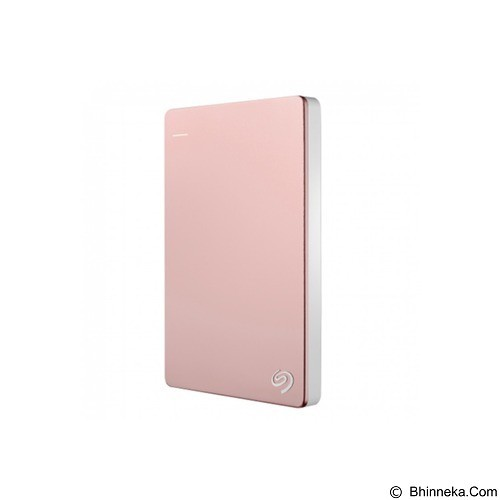 SEAGATE Backup Plus SLIM USB 3.0 2TB - Rose Gold (Merchant) - Hard Disk External 2.5 Inch