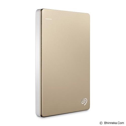 SEAGATE Backup Plus SLIM USB 3.0 2TB [STDR2000307] - Gold - Hard Disk External 2.5 Inch