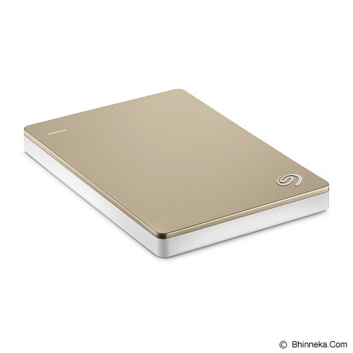 SEAGATE Backup Plus SLIM USB 3.0 2TB [STDR2000307] - Gold - Hard Disk External 2.5 Inch