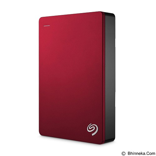 SEAGATE Backup Plus SLIM USB 3.0 4TB - Red (Merchant) - Hard Disk External 2.5 Inch