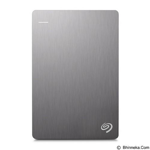 SEAGATE Backup Plus SLIM USB 3.0 4TB - Silver (Merchant) - Hard Disk External 2.5 Inch