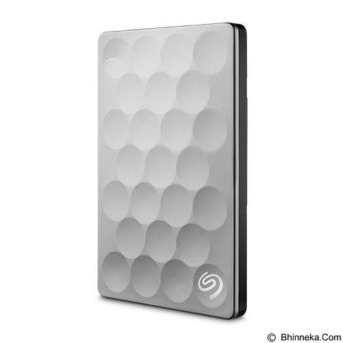 SEAGATE Backup Plus Ultra Slim 1TB [STEH1000300] - Platinum - Hard Disk External 2.5 Inch