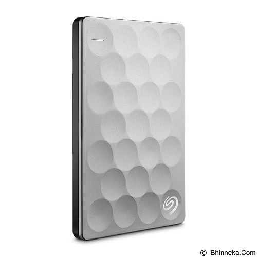 SEAGATE Backup Plus Ultra Slim 2TB [STEH2000300] - Platinum (Merchant) - Hard Disk External 2.5 Inch
