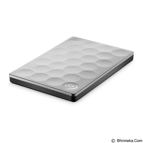 SEAGATE Backup Plus Ultra Slim 2TB [STEH2000300] - Platinum - Hard Disk External 2.5 Inch