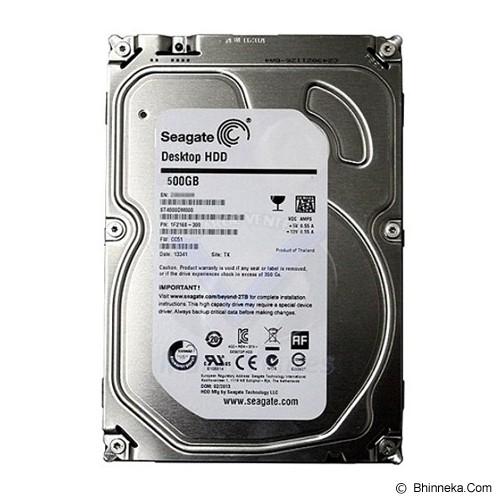 SEAGATE Desktop HDD 500GB - Hdd Internal Sata 3.5 Inch