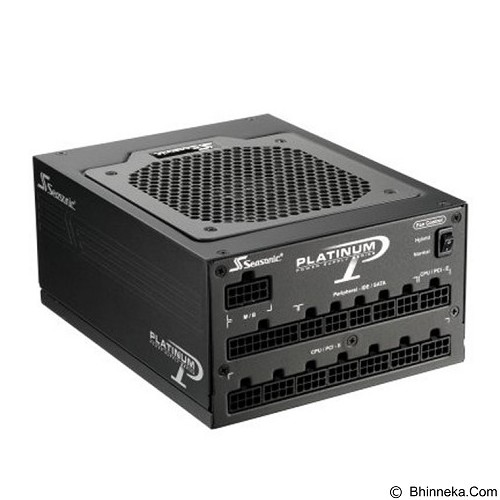 SEASONIC Power Supply Platinum 1200W Active PFC F3 [SS-1200XP3] - Power Supply Above 1000w