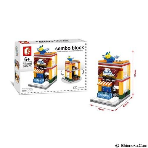 SEMBO SD6049 Seafood [305002780] (Merchant) - Building Set Architecture