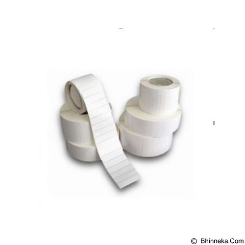 SEMICOATED Label 100x60mm (Paket 5 Roll) - Kertas Label / Letra Tag