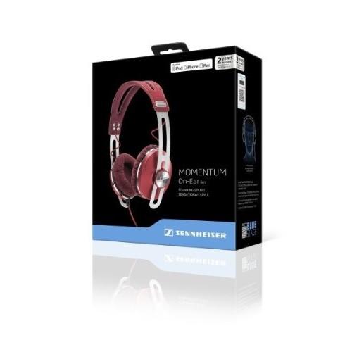 SENNHEISER Headphone MOMENTUM On Ear - Red - Headphone Full Size