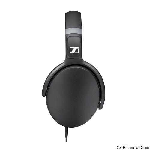 SENNHEISER Headphone Over Ear with Inline Mic [HD 4.30G] - Black - Headphone Full Size