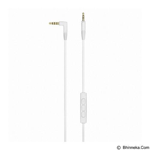 SENNHEISER Headphone Over Ear with Inline Mic [HD 4.30G] - White - Headphone Full Size