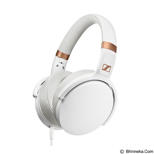 SENNHEISER Headphone Over Ear with Inline Mic [HD 4.30i] - White - Headphone Full Size