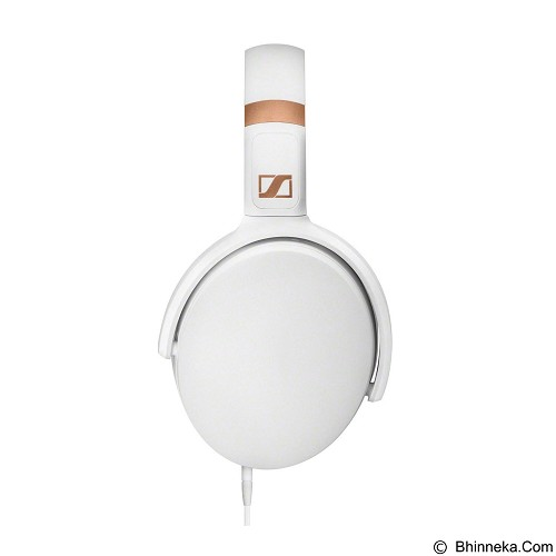 SENNHEISER Headphone Over Ear with Inline Mic [HD 4.30i] - White - Headphone Full Size
