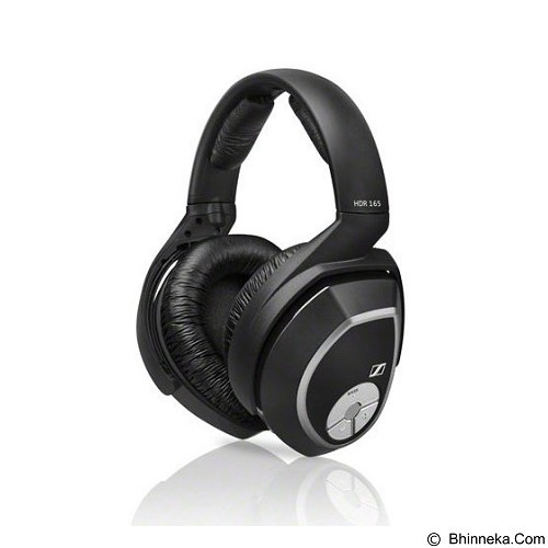 SENNHEISER Wireless Headphones Digital [RS 165] - Black - Headphone Full Size