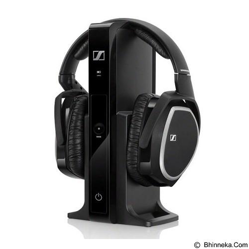 SENNHEISER Wireless Headphones Digital [RS 165] - Black - Headphone Full Size
