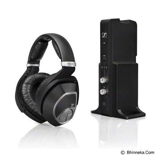 SENNHEISER Wireless Headphones [RS 195] - Black - Headphone Full Size