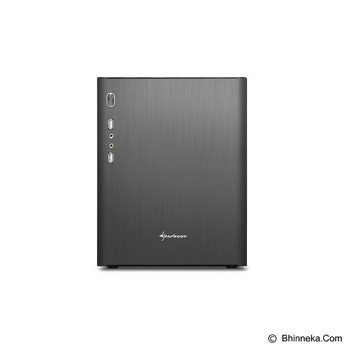 SHARKOON Casing PC [CA-M] - Black (Merchant) - Computer Case Mini Tower