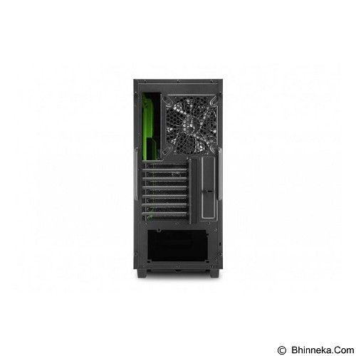 SHARKOON Casing PC [DG7000] - Green (Merchant) - Computer Case Middle Tower