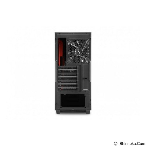 SHARKOON Casing PC [DG7000] - Red (Merchant) - Computer Case Middle Tower