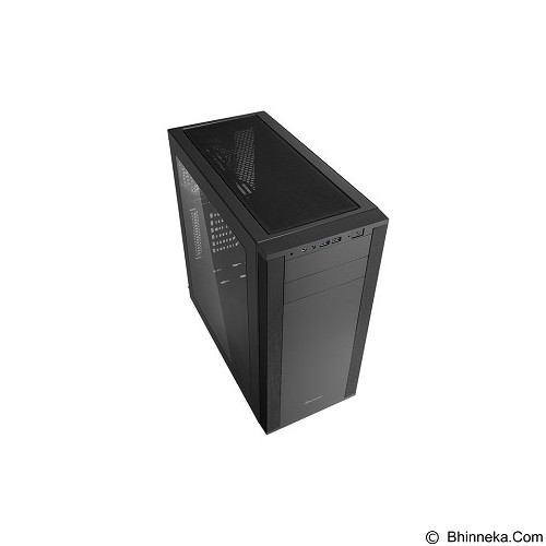 SHARKOON Casing PC [M25-W] - Black (Merchant) - Computer Case Middle Tower
