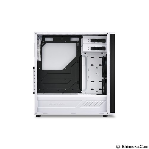 SHARKOON Casing PC [M25-W] - White (Merchant) - Computer Case Middle Tower