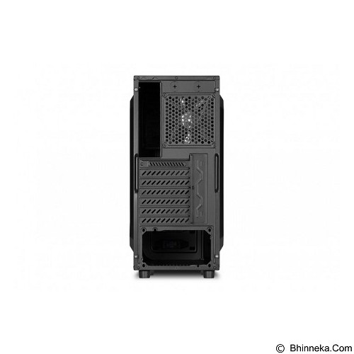 SHARKOON Casing PC [VG5-W] - Red (Merchant) - Computer Case Middle Tower