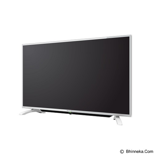 SHARP 40 Inch AQUOS TV LED [LC-40LE185i-WH]
