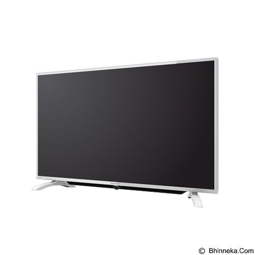 SHARP 40 Inch AQUOS TV LED [LC-40LE185i-WH]