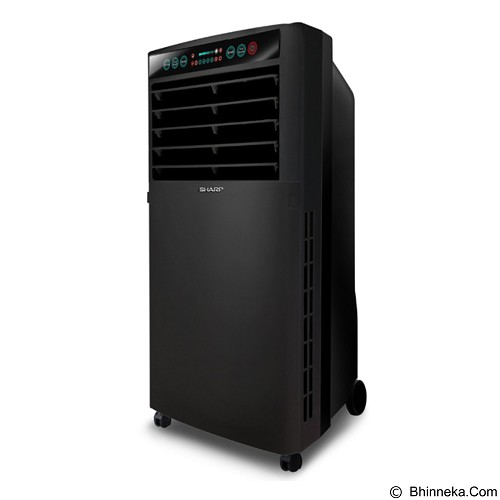 SHARP Air Cooler [PJ-A77TY-B] - Black (Merchant) - Ac Floor Stand