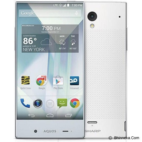 SHARP Aquos Crystal [S825] - White (Merchant) - Smart Phone Android