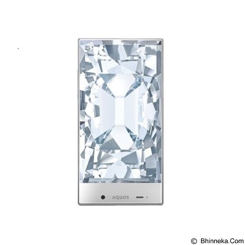 SHARP Aquos Crystal [SH825WI] - White (Merchant) - Smart Phone Android
