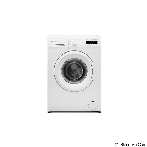 SHARP Front Load Washing Machine [ES-FL1082] - Mesin Cuci Front Load