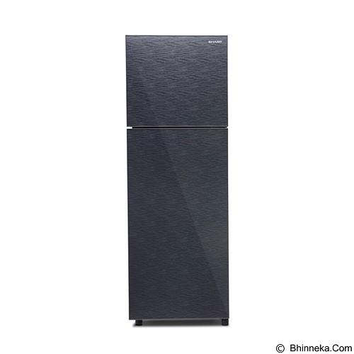 SHARP Kulkas 2 pintu [SJ-246XG-MS] - Silver - Kulkas 2 Pintu