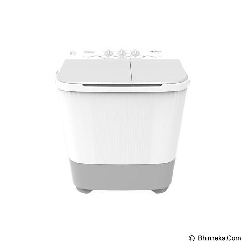 SHARP Mesin Cuci Twin Tub [ES-T85MW-HK] (Merchant) - Mesin Cuci Twin Tub